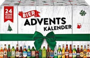Bier Adventskalender mit 24 verschiedenen Biersorten