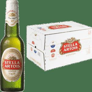 Stella Artois 5% Vol. 24 x 33 cl Belgien