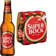 Super Bock Lager 5,2% Vol. 24 x 25 cl Portugal