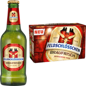 Feldschlösschen Braufrisch 5% Vol. ( 4 Karton à 10 x 33 cl )