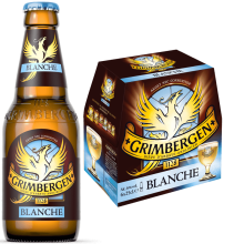 Grimbergen blanche 6,0% Vol. 24 x 25 cl EW Flasche Belgien
