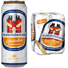 Feldschlösschen Alkoholfrei Weizenfrisch 0,5% Vol. 24 x 50 cl Dose