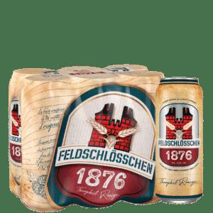 Feldschlösschen 1876 4,8% Vol. 24 x 50 cl Dose