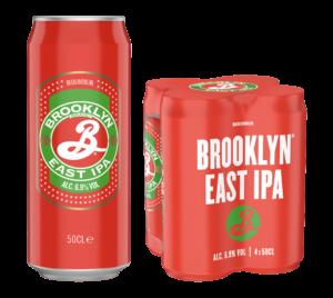 Brooklyn East India Pale Ale 6,9% Vol. 24 x 50 cl Dose Amerika