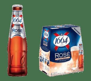 Kronenbourg 1664 Rosé 4,5% Vol. 24 x 25 cl EW Flasche