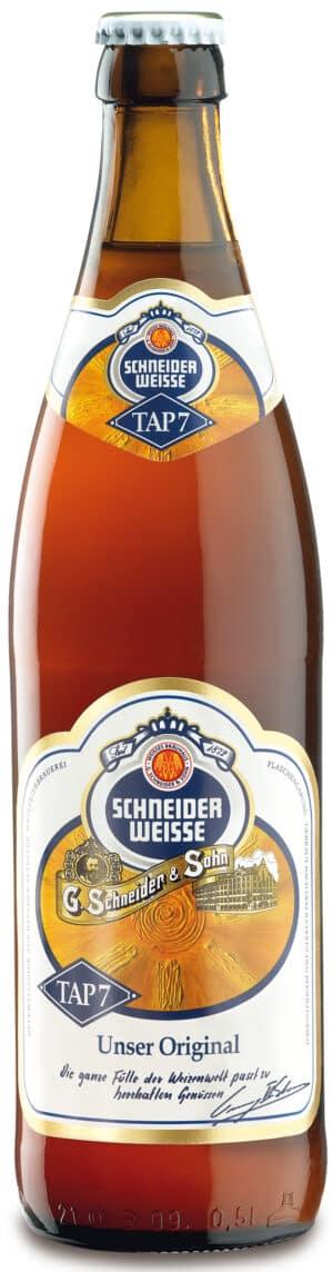 Schneider Weisse Original  TAP 7 20 x 50cl EW Flasche