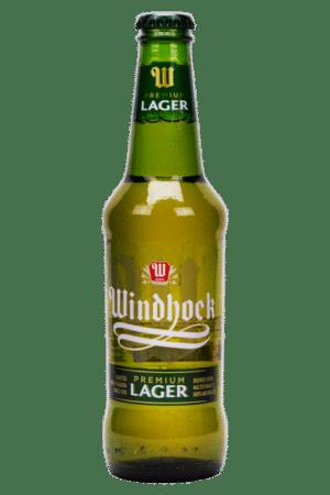 Windhoek Lager Beer 4% Vol. 24 x 33 cl Namibia