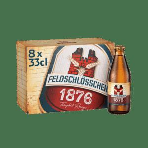 Feldschlösschen 1876 4,8% Vol. ( 3 Karton à 8 x 33 cl )