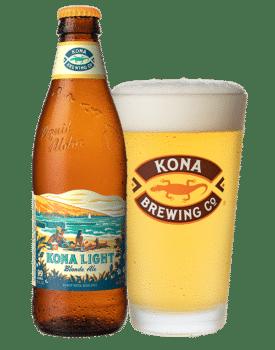 KONA Light Blonde Ale 4,2% Vol. 24 x 35 cl EW Flasche