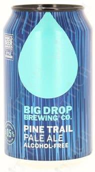 Big Drop Trail Pale Ale 0.5% Vol. 12 x 33 cl