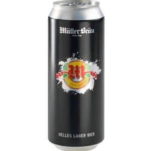 Müllerbräu Lagerbier 24 x 50 cl Dose