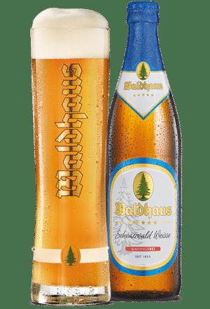 Waldhaus Hefeweiss alkoholfrei 0,0% Vol. 20 x 50cl MW Flasche