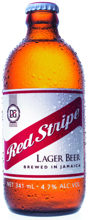 Red Stripe Beer of Jamaica 4,7% Vol. 24 x 34,1 cl Jamaica
