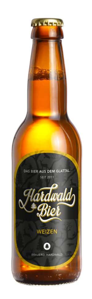 Hardwald Bier Weizen 5,2% Vol. 24 x 33 cl EW Flasche