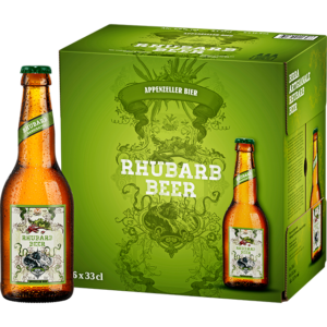 Appenzeller Rhubarb Beer 1,8% Vol. 24 x 33 cl