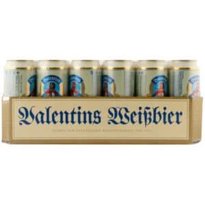 Valentins Premium Hefeweissbier Hefetrüb 24 x 50 cl Dose Deutschland