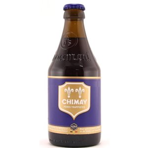 Chimay Brune Blue 9% Vol. 24 x 33 cl Belgien