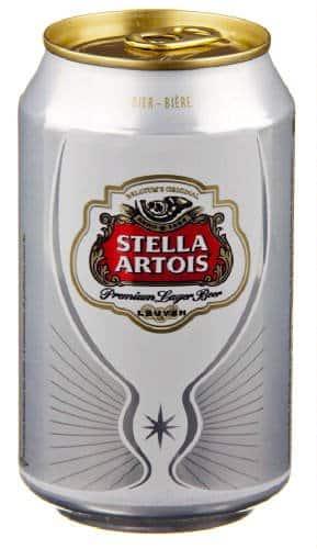 Stella Artois 5% Vol. 24 x 33 cl Dose Belgien