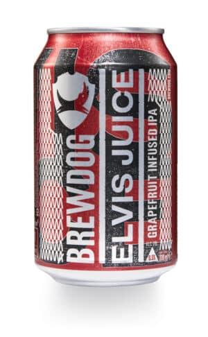 BrewDog Elvis Juice IPA 6,5% Vol. 24 x 33 cl Dose Schottland