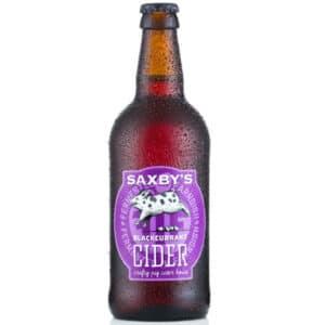 Saxby's original Cider 5,0% Vol. 12 x 50 cl EW Flasche England