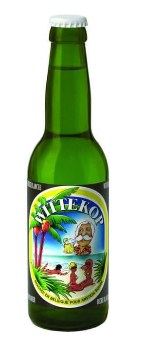 Wittekop hell Weizen / Weissbier 5,0% Vol. 24 x 33 cl EW Flasche Belgien