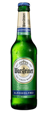 Warsteiner Herb alkoholfrei < 0,5% Vol. 24 x 33 cl Deutschland