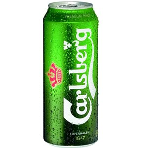 Carlsberg Beer 5% Vol. 24 x 50 cl Dosen