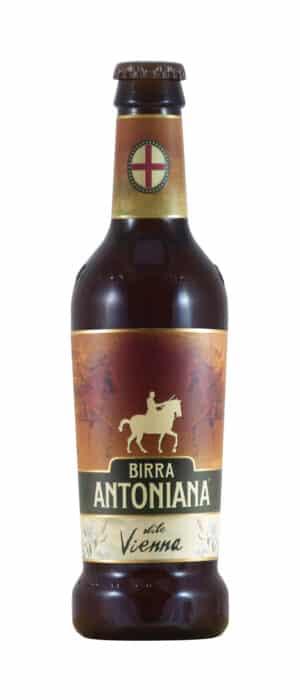 Birra Antoniana Stile Vienna 5,4% Vol. 24 x 33 cl EW Flasche Italien