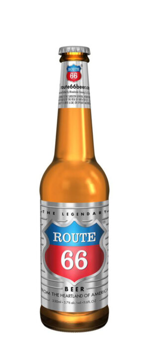 Rhinelander Brewing Route 66 5,7% Vol. 24 x 33 cl Amerika