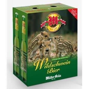 Müllerbräu Wildschweinbier Premium Spezial 5,2% Vol. 24 x 33 cl