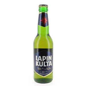 Lapin Kulta Premium Beer 5,2% Vol. 24 x 31,5 cl Finnland