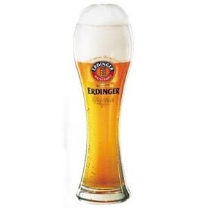 Erdinger 6 Biergläser mit  je 3 dl