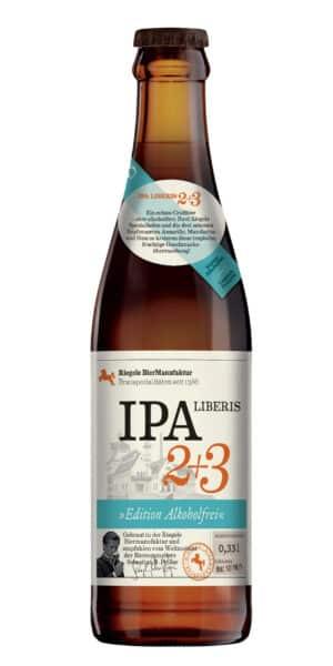 Riegele IPA Liberis 2 + 3 Sans alcool 24 x 33 cl Deutschland