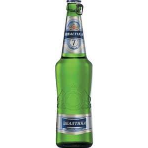 Baltika No.7 helles Premium Bier 5,4% Vol. 20 x 50 cl Russland