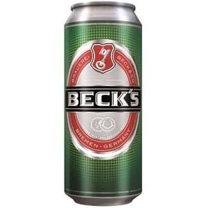 Beck's Pilsner Lager 4,9% Vol. 24 x 33 cl Dosen