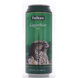 Falken Lagerbier hell 4,8% Vol. 24 x 50 cl Dosen