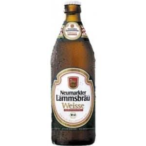 Neumarkter Lammsbräu Hefe Weissbier 5,1% Vol. 10 x 50 cl Deutschland