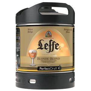 Leffe blonde Perfect Draft 6 L Fässli ( für Philips Perfect Draft-Anlage )