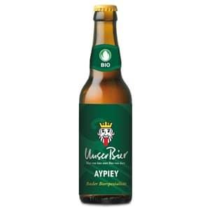 """Unser Bier AYPIEY """"IPA"""" 7,1% Vol. 10 x 33 cl MW"""