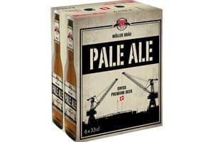 Müllerbräu Pale Ale Swiss Premium Beer 5,9% Vol. ( 4 Karton à 6 x 33 cl )