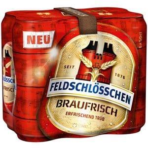 Feldschlösschen Braufrisch 5% Vol. 24 x 50 cl