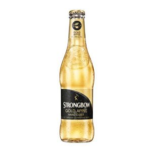 Strongbow Gold Apple Cider 4,5% Vol. 24 x 33 cl EW Flasche