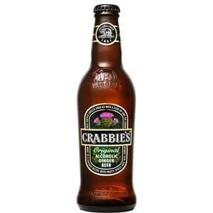 Crabbie's Alcoholic Ginger Beer glutenfrei 4.0% Vol. 24 x 33 cl Scotland