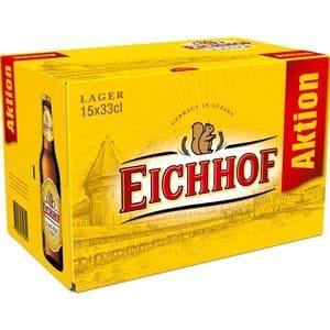 Eichhof Lager 4,8% Vol. ( 2 Karton à 15 x 33 cl EW )