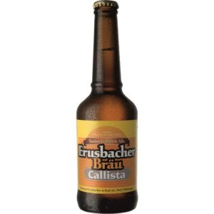 Erusbacher Bräu Callista Swiss Golden Ale 4,4% Vol. 20 x 33 cl MW Flasche