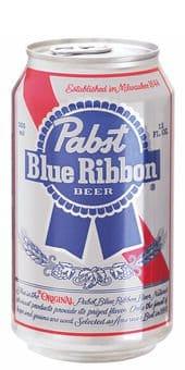 Pabst Blue Ribbon Beer 4,65% Vol. 24 x 35,5 cl Dose Amerika