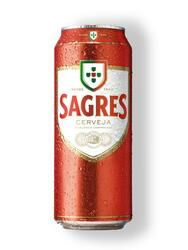 Sagres Branca Cerveja 5.0% Vol. 24 x 50cl Dose