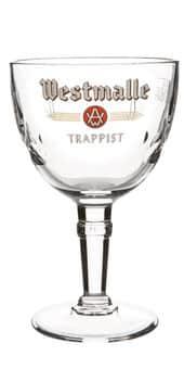 Westmalle Glas 12 Stück mit je 25 cl Belgien