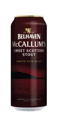 Belhaven McCallum's Stout 4,1% Vol. 24 x 44 cl Dose Scotland