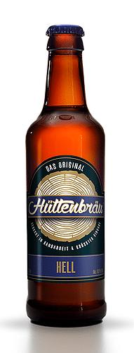 Hüttenbräu Hell 4,8% Vol. 24 x 33 cl